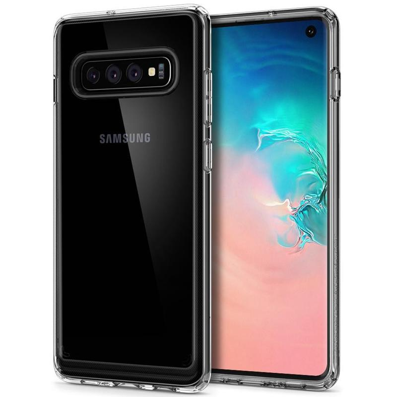 Spigen Samsung Galaxy S10 Case Ultra Hybrid - Crystal Clear