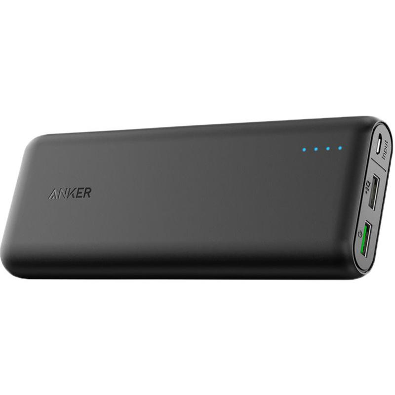 Anker PowerCore 3A 20,000mAh Portable Power Bank with QC 3.0 - Black