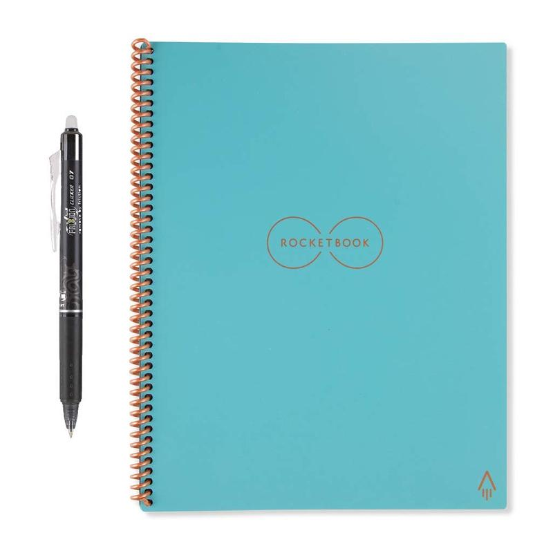 Rocketbook Everlast Smart Re-usable Notebook / Journal A4 - Neptune Teal