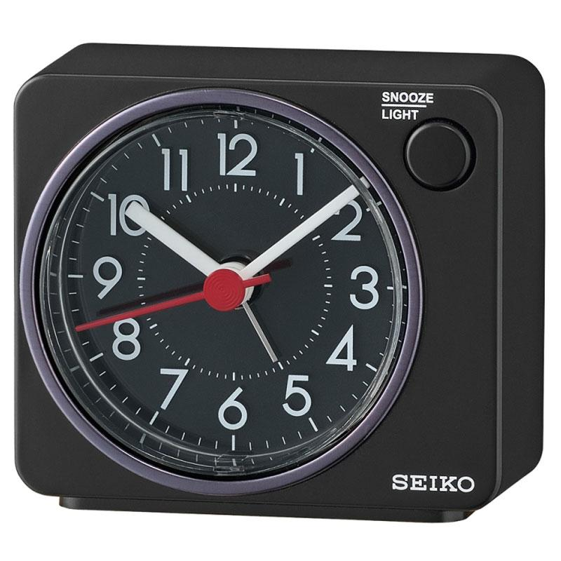 Seiko Beep Alarm Clock (QHE100K) - Black