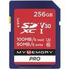 MyMemory 256GB V30 PRO High Speed SD Card (SDXC) UHS-1 U3 - 100MB/s