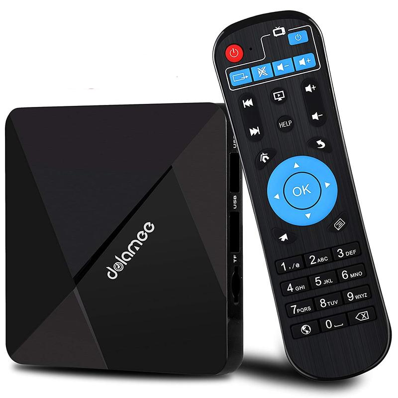 Dolamee D5 Android 7.1 Smart TV Streaming Box With Wifi and Bluetooth