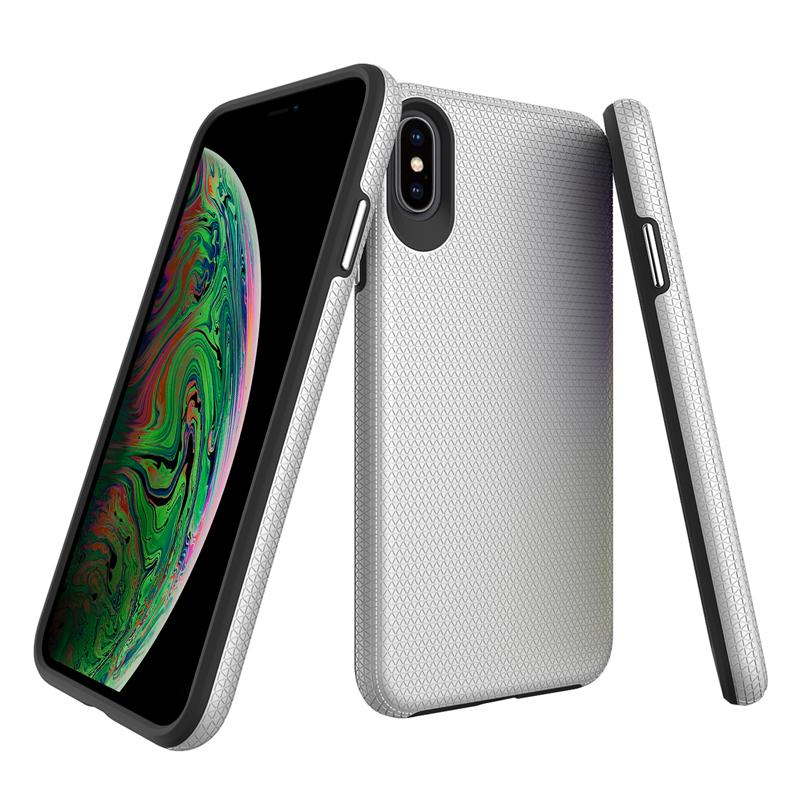 oneo FUSION iPhone XS Max Case - Silver