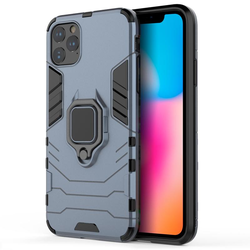 oneo ARMOUR Grip iPhone 11 Pro Max Protective Case - Navy Blue