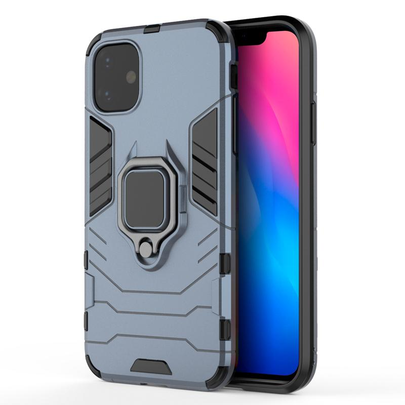oneo ARMOUR Grip iPhone 11 Pro Protective Case - Navy Blue