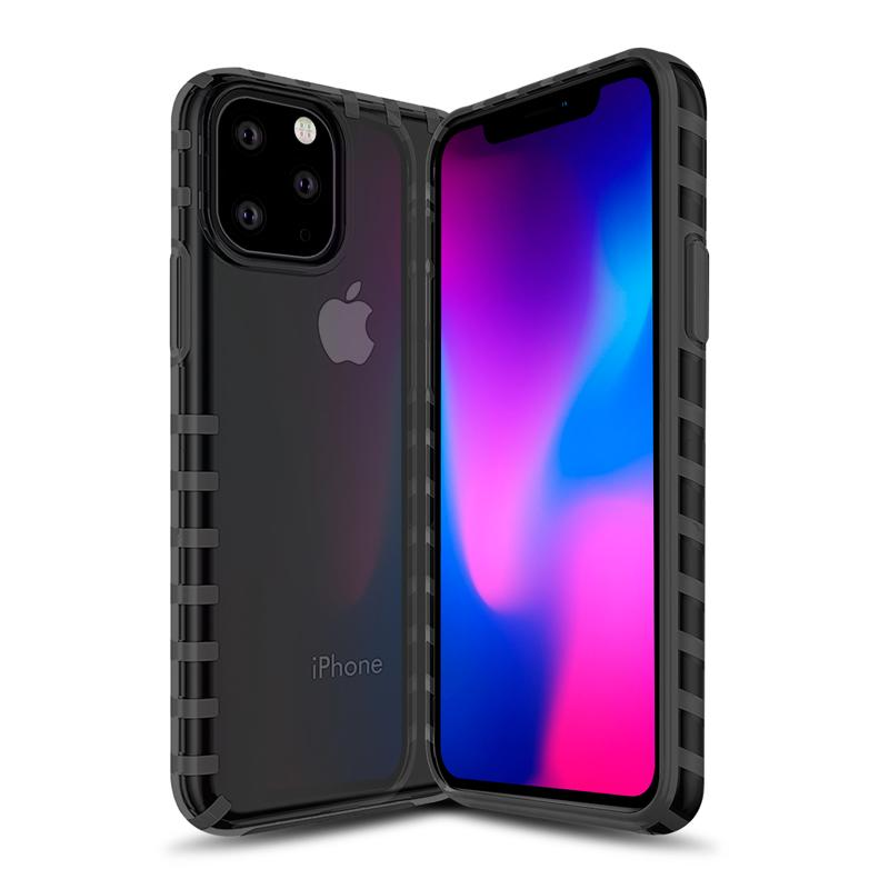 oneo VISION iPhone 11 Transparent Case - Dark Grey