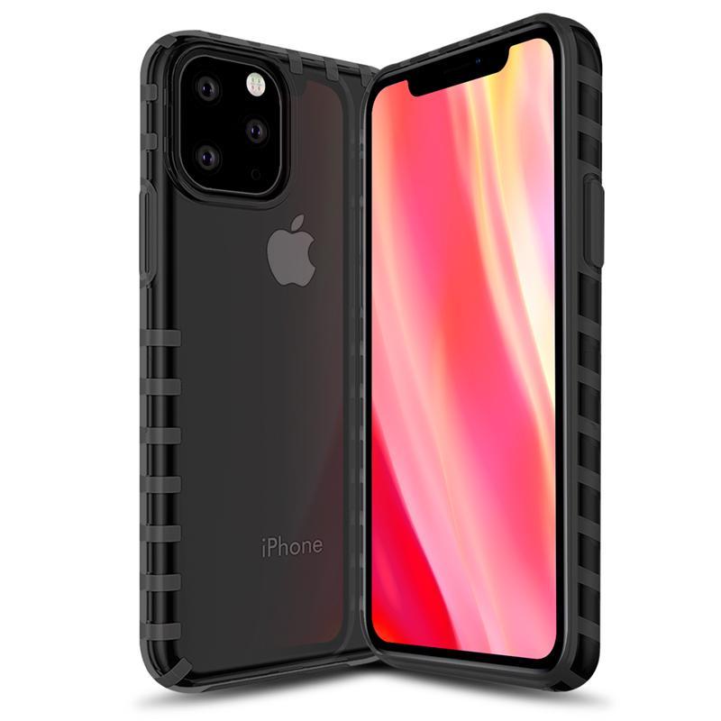 oneo VISION iPhone 11 Pro Max Transparent Case - Dark Grey