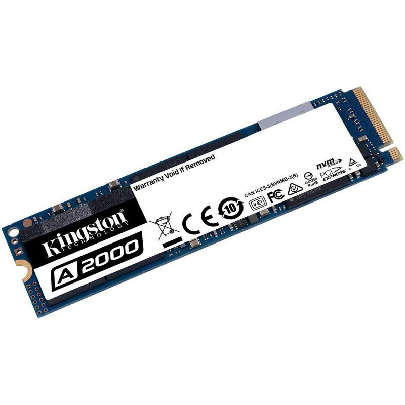 Kingston 250GB A2000 NVMe PCIe M.2 Internal SSD - 2000 MB/s