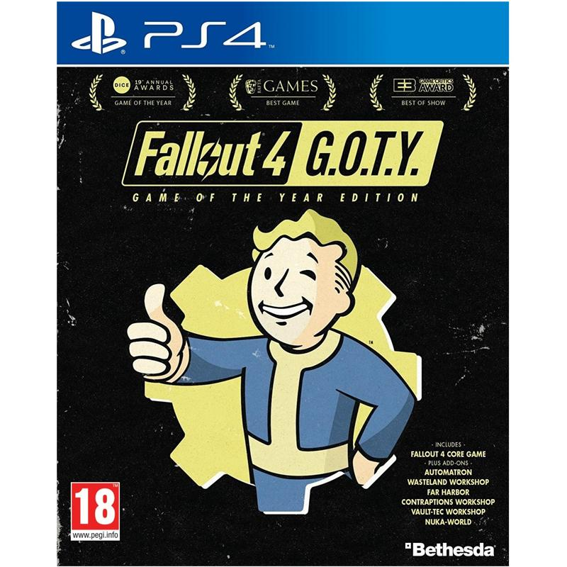 Fallout 4 - Game of the Year Edition (Sony PS4)