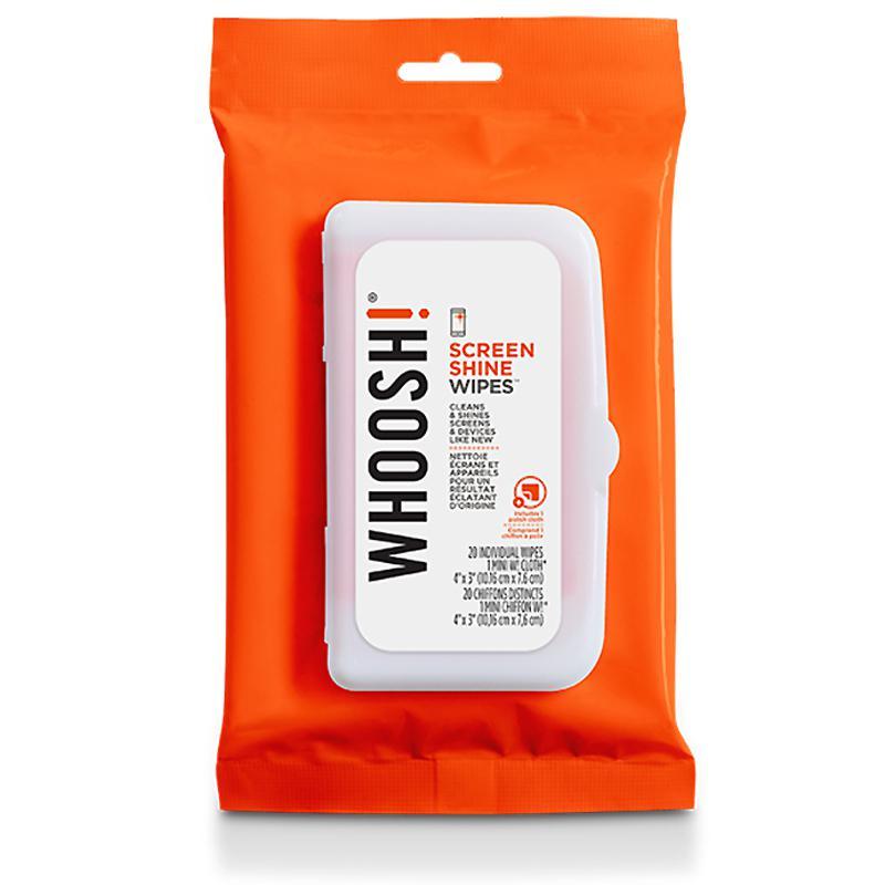 WHOOSH! Screen Shine Wipes - 20 Pack