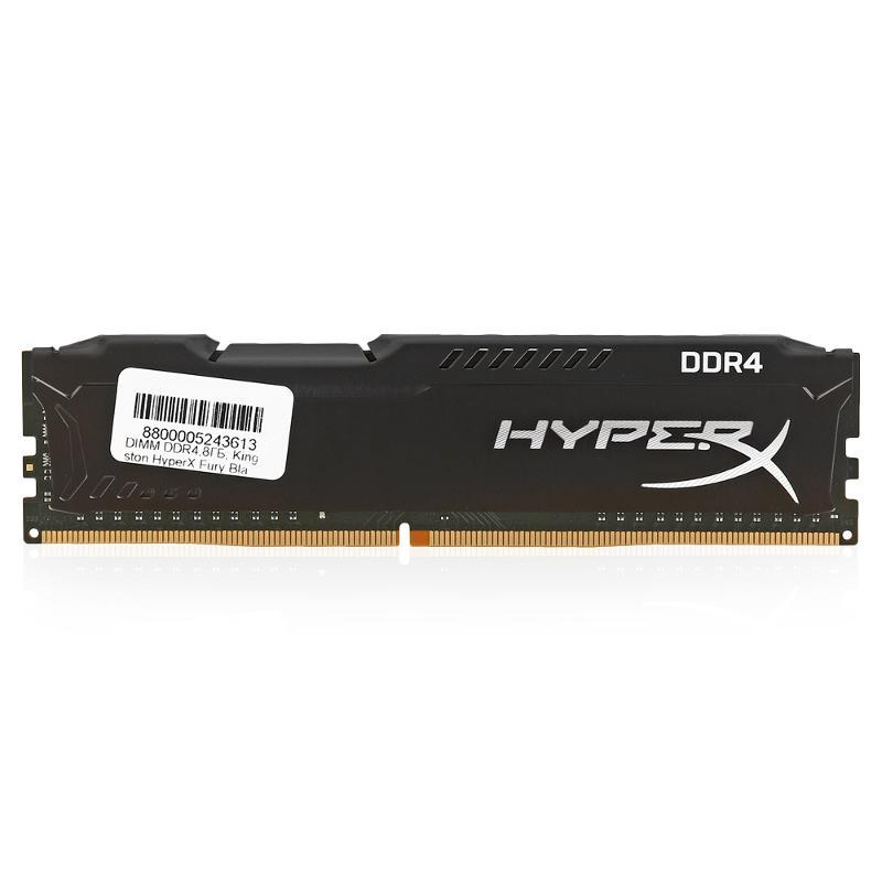 Kingston HyperX Savage 8GB (2x4GB) Memory Kit PC3-12800 1600MHz DDR3