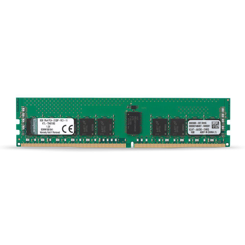Kingston ValueRAM 4GB (1 x 4GB) Memory Module DDR4 2400MHz CL17 ECC 288-Pin DIMM Registered 1.2V