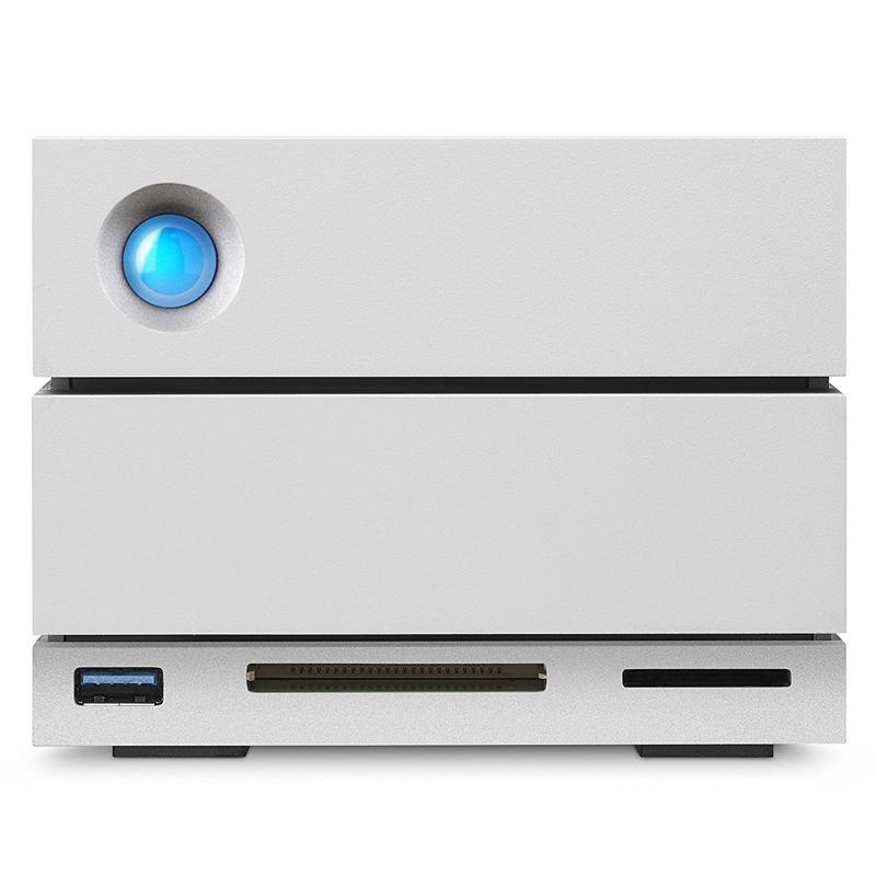 Lacie 8TB HDD Desktop 2big Dock Thunderbolt 3 External HDD USB 3.1/3.0/SD/CF Card - 440MB/s