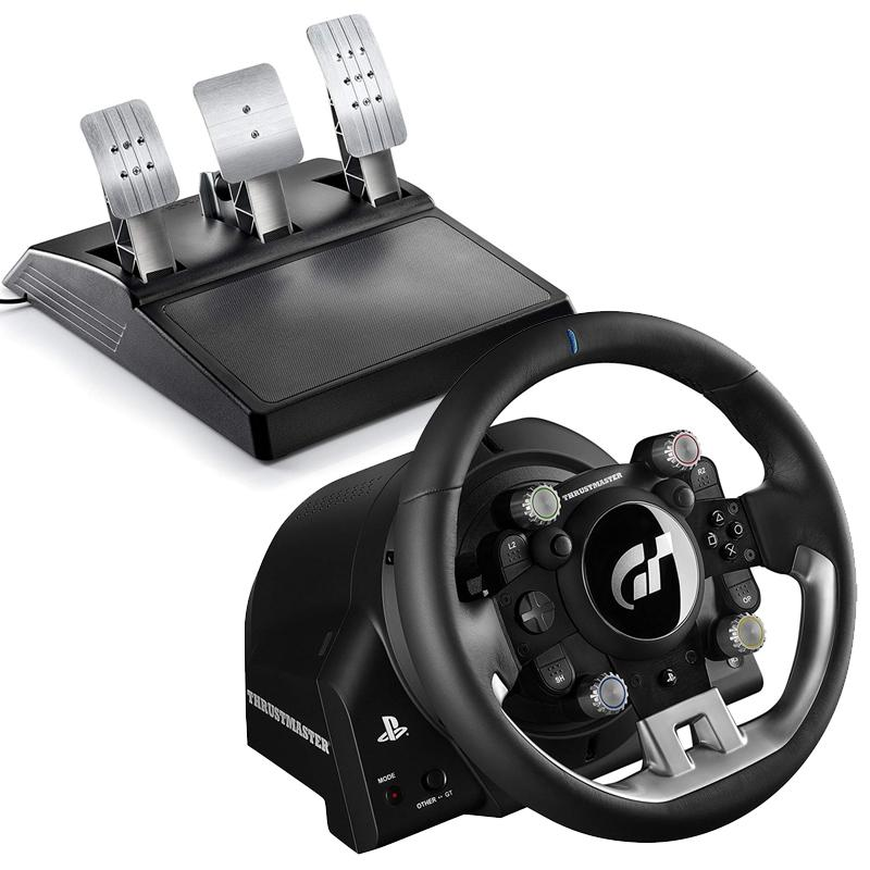 Thrustmaster T-GT Racing Wheel and 3 Pedal Set for PC/PS4