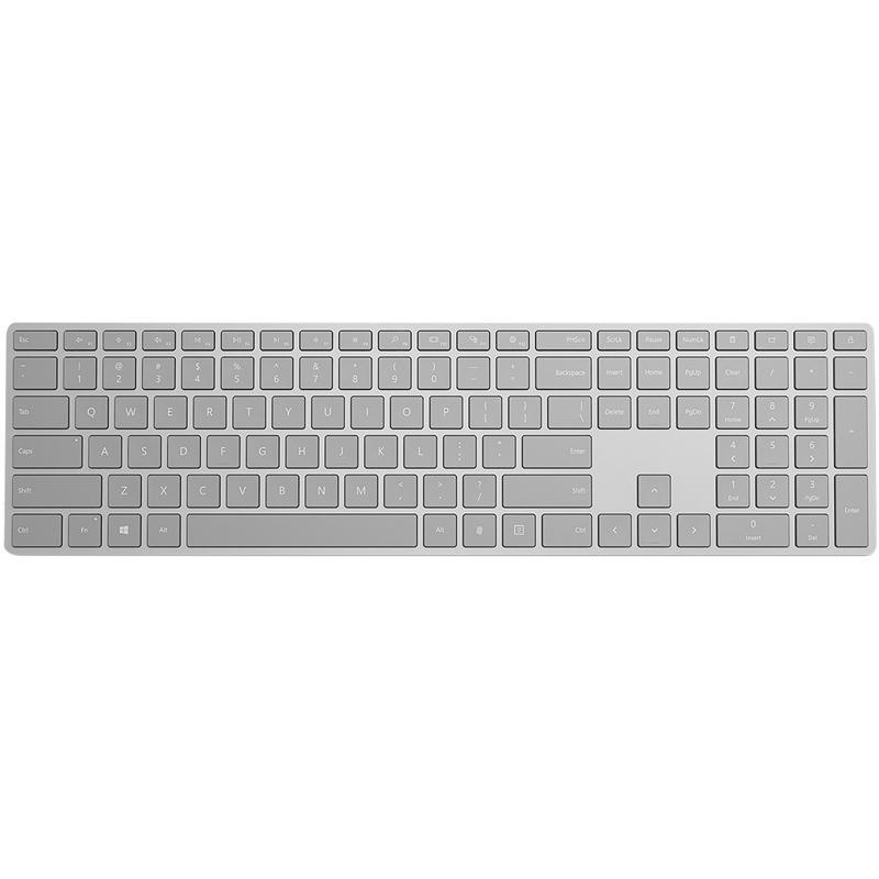 Microsoft EKZ-00005 Modern Keyboard with BT and Fingerprint ID (Grey)