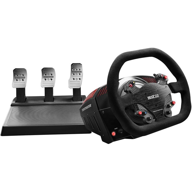 Thrustmaster TS-XW Racer Sparco P310 Competition Mod Racing Wheel and 3 Pedal Set - Xbox One/PC