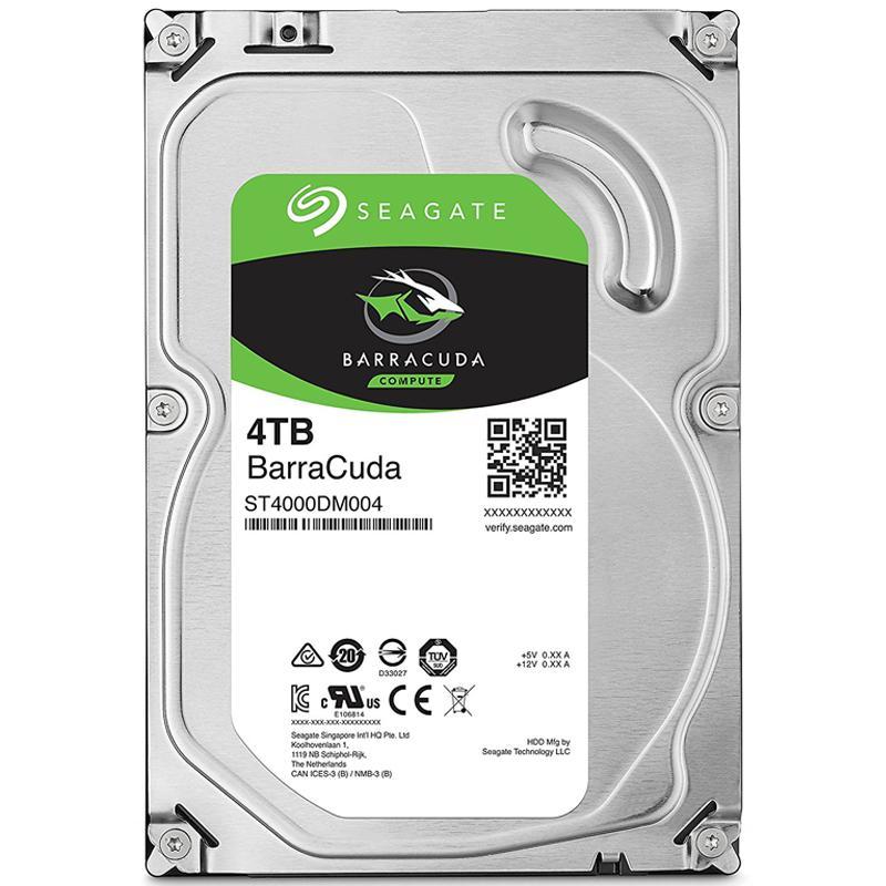 Seagate 4TB HDD BarraCuda Internal SATA III 3.5