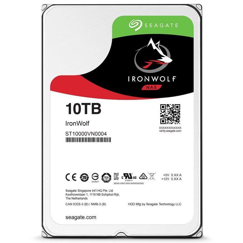 Seagate 10TB HDD IronWolf 3.5