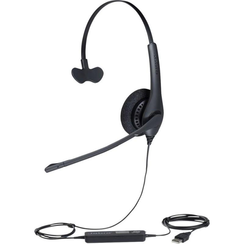 Jabra BIZ 1500 Mono QD Wired Headset with Noise-Cancelling Microphone