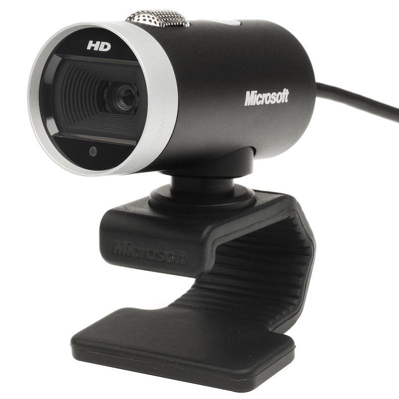 Microsoft LifeCam Cinema for Business - Black/Silver
