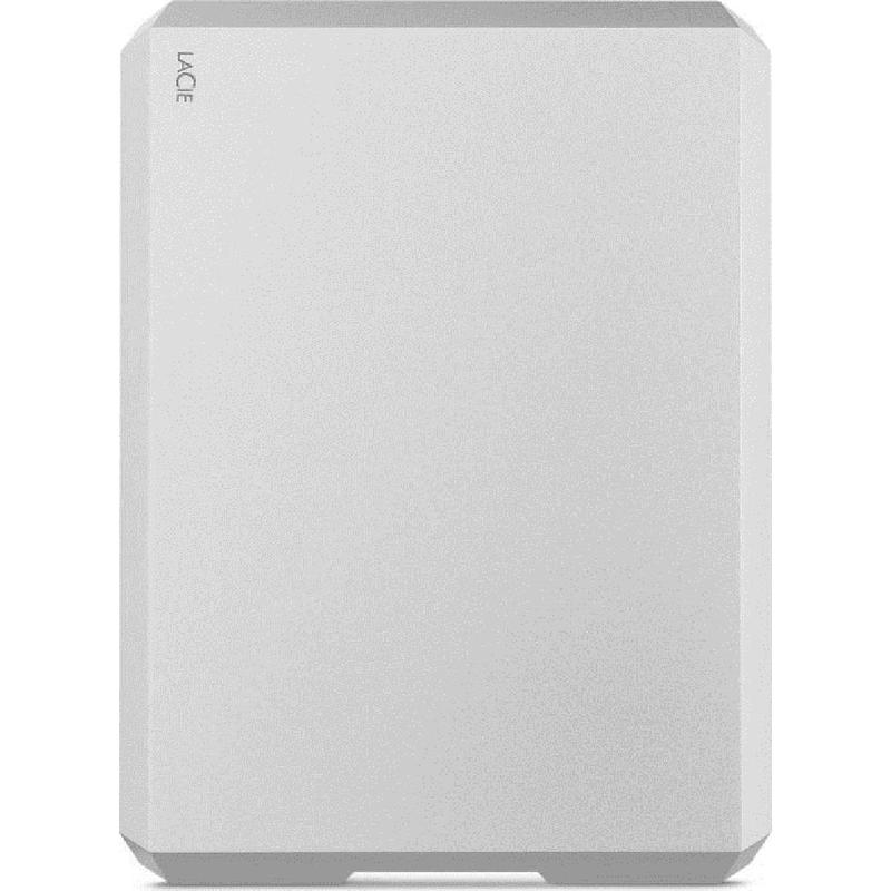 LaCie 4TB Mobile HDD USB 3.0 Type-C - Moon Silver