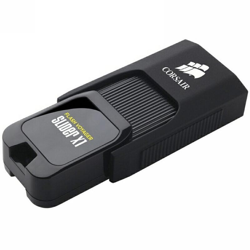 Corsair 128GB Flash Voyager Slider X1 USB 3.0 Flash Drive (Manufacturer Refurbished)