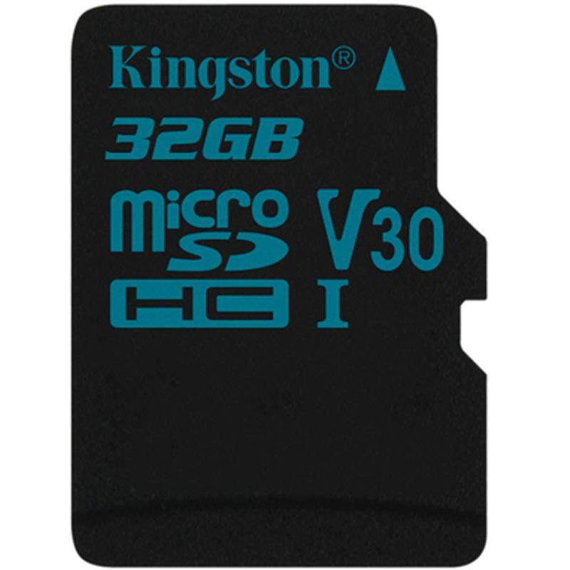 Kingston 32GB Canvas Go Micro SD Card (SDHC) UHS-I U3 V30 - 90MB/s
