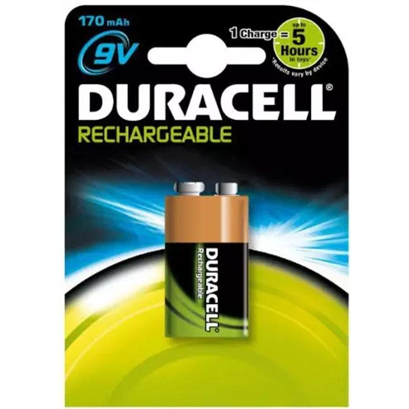 Duracell 170mAh 9V Rechargeable Battery