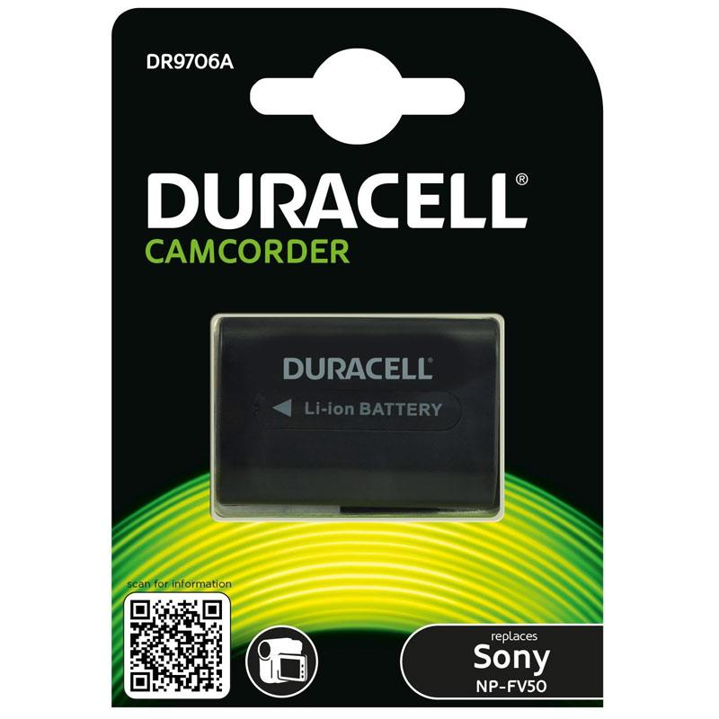 Duracell Sony NP-FV50 Camcorder Battery