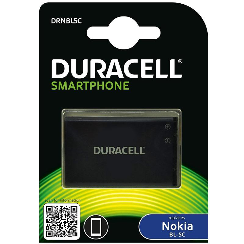 Duracell Nokia BL-5C Smartphone Battery
