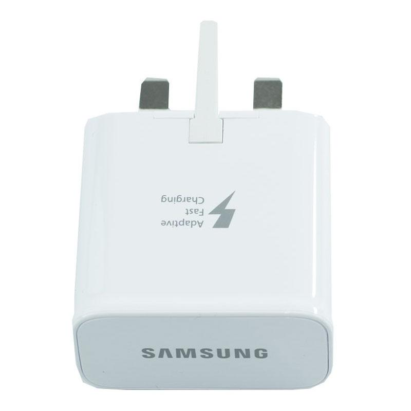 Samsung Galaxy 2A Mains Fast Charger + 1M Micro USB Cable - White