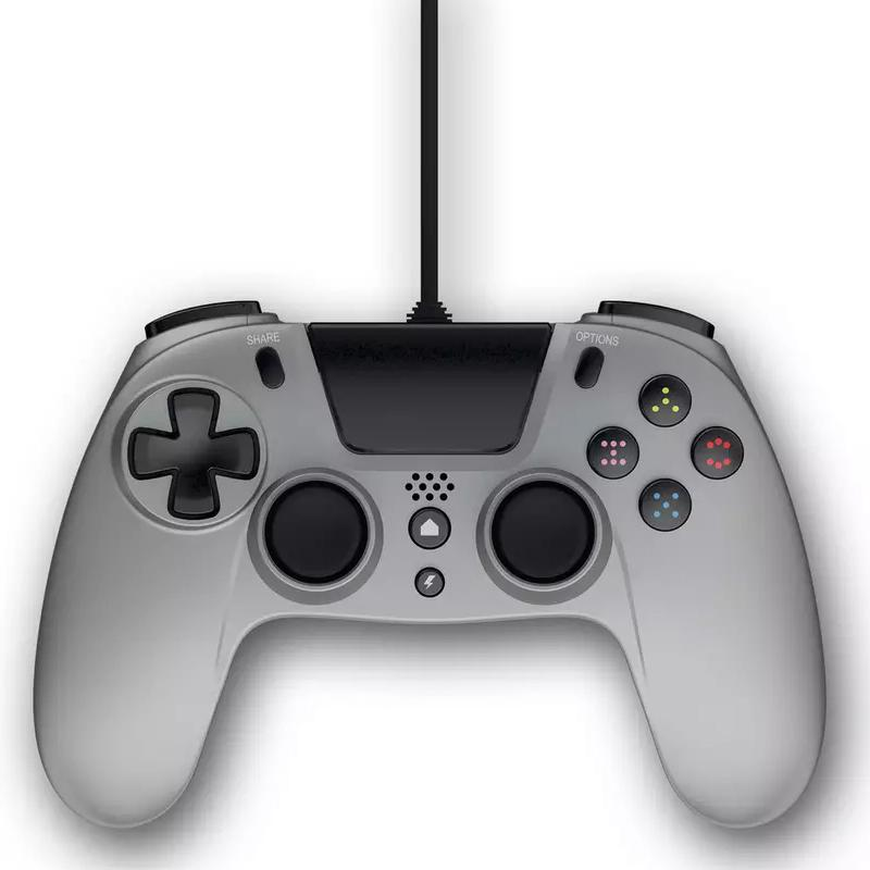 Gioteck VX-4 Wired Controller (Sony PS4) - Titanium