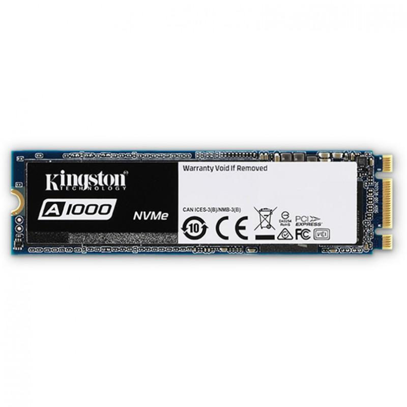 Kingston A1000 960GB SSDNOW M.2 2280 PCIE NVME 3.0 SSD