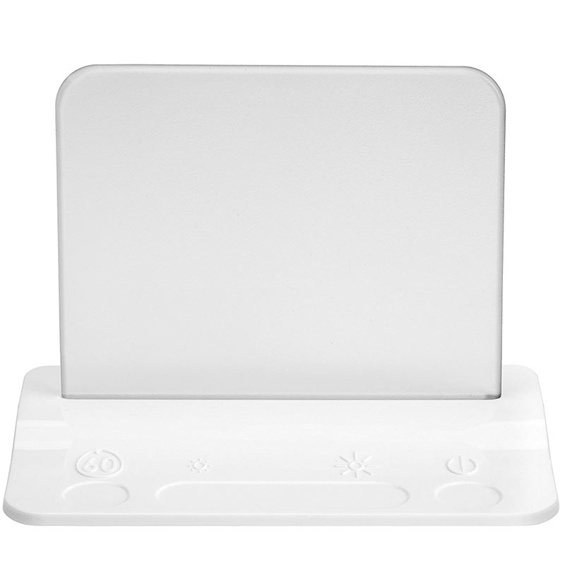 Integral USB LED Table Light and pass-through charger (White)