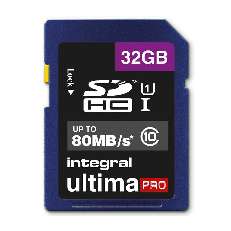 Integral 32GB Ultima PRO SD Card (SDHC) - 80MB/s