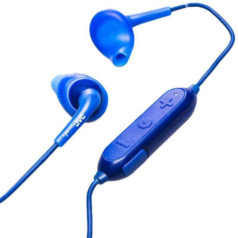 JVC Gumy Sports Wireless In Ear Headphones - Blue