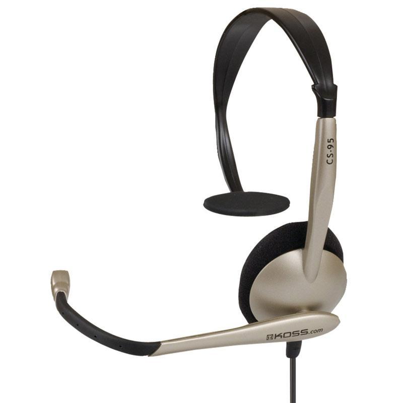 Koss CS95 Communication Headset with Noise Cancelling Mic