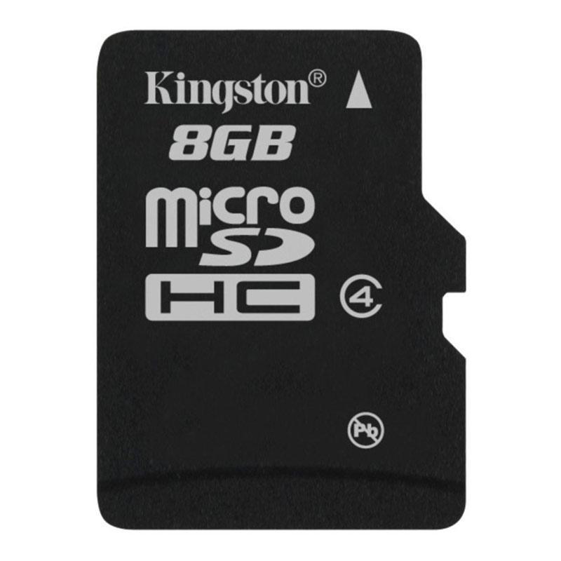Kingston 8GB Micro SD Card (SDHC) - 4MB/s