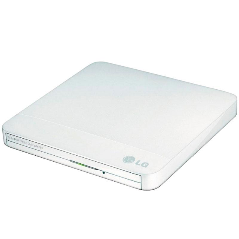 LG Super-Multi Portable DVD Rewriter with M-DISC - White