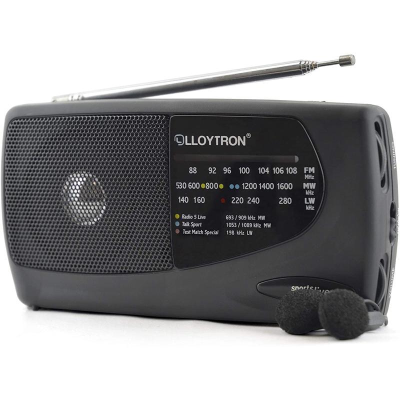 Lloytron Sports Live 3 Band Personal Radio