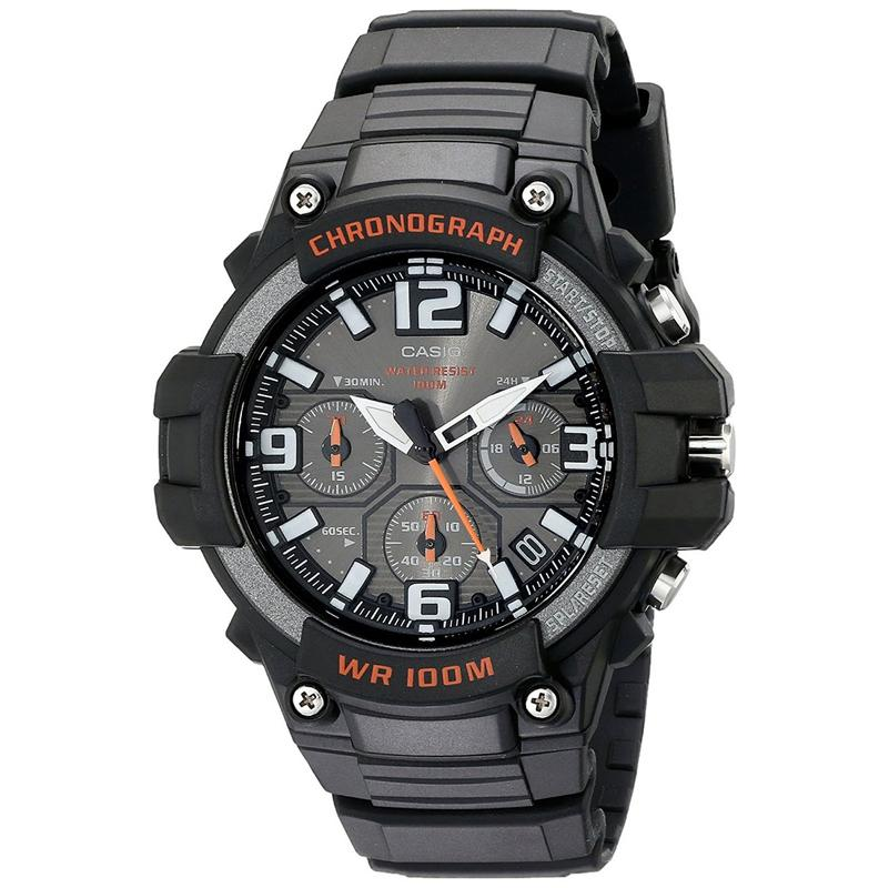 Casio Mens Twin Sensor Sports Watch - Black