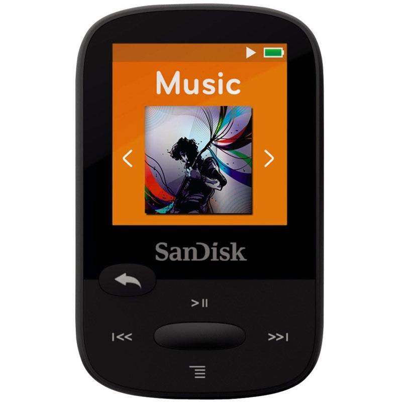 SanDisk 8GB Clip Sport MP3 Player - Black