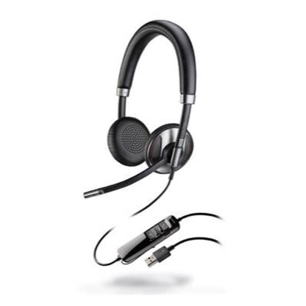 Plantronics - Blackwire C725-M USB Headset with Active Noise Canceling Mic