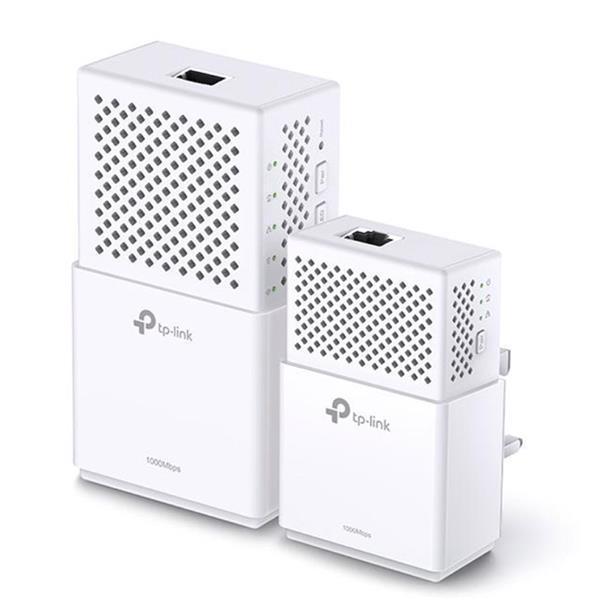 TP-Link AV1000 TL-WPA7510 1000Mbps Gigabit Powerline AC Wi-Fi Kit (White)