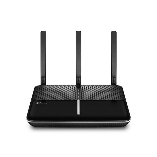 TP-Link Archer VR600 AC1600 1300Mbps (5GHz) 300Mbps (2.4GHz) Dual-Band Wireless Gigabit VDSL/ADSL Modem Router Black (V2.0)