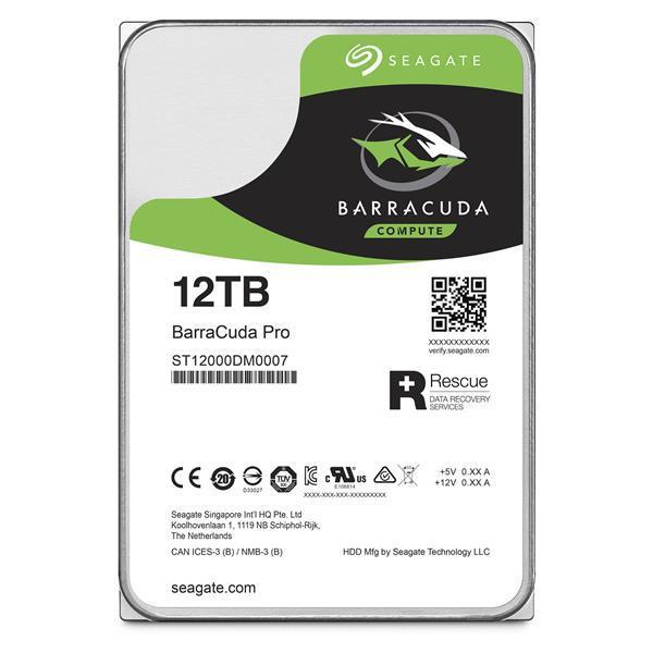 Seagate BarraCuda Pro 12TB 3.5
