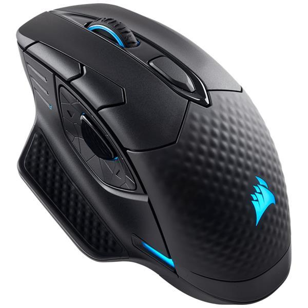 Corsair Dark Core RGB SE Wired/Wireless Gaming Mouse with Qi Wireless Charging - EU