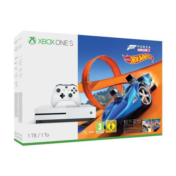 Bundle: Microsoft Xbox One S 1TB with Forza Horizon 3: Hot Wheels