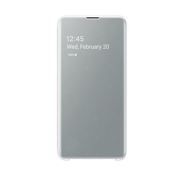 Samsung Galaxy S10e Clear View Cover - White