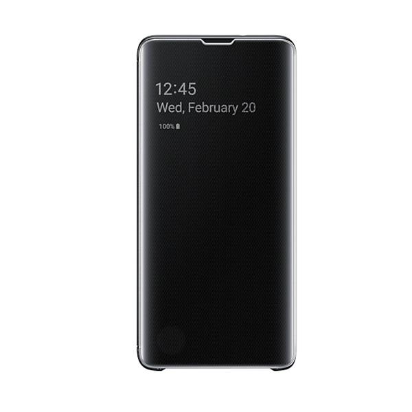 Samsung Galaxy S10 Clear View Case - Black